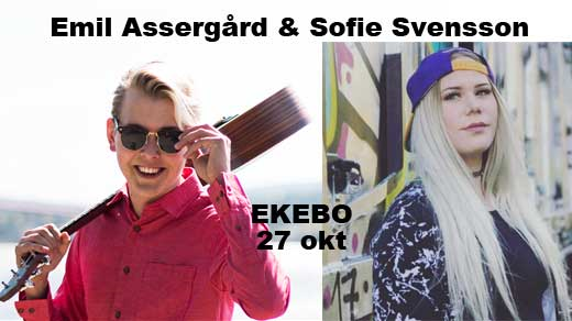 Bild för Emil Assergård & Sofie Svensson, 2018-10-27, Ekebo Nöjescentrum