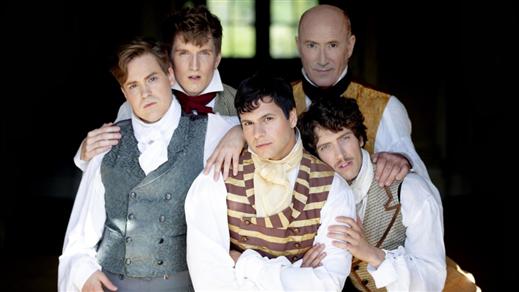 Bild för Stolthet och Fördom eller The Story of Mr Darcy..., 2020-03-09, Teater Halland Stora Scen