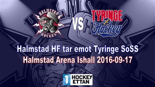 Bild för Halmstad HF vs. Tyringe SoSS, 2016-09-17, Halmstad Arena