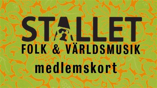 Bild för Medlemskap Stallet 2016, 2015-09-01, Stallet Folk & Världsmusik