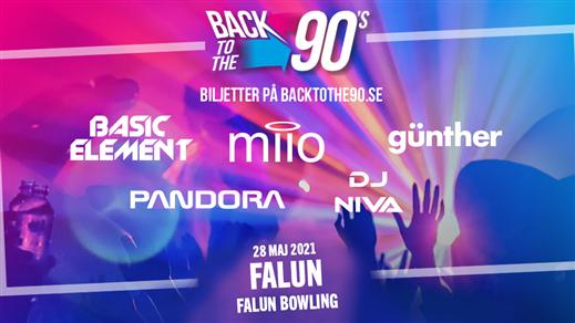 Bild för BACK TO THE 90s - Falun, 2021-05-28, Falun Bowling & Krog