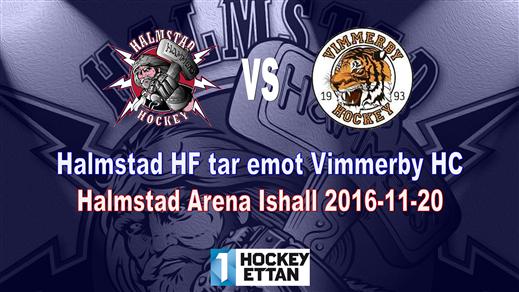 Bild för Halmstad HF vs. Vimmerby HC, 2016-11-20, Halmstad Arena