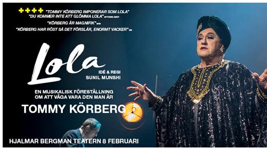 Bild för Tommy Körberg LOLA, 2019-02-08, Hjalmar Bergman Teatern