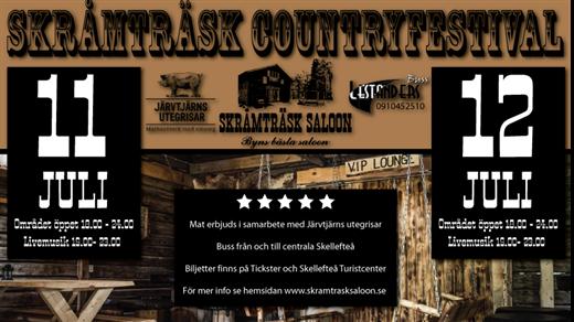 Bild för Skråmträsk Countryfestival, 2019-07-11, Skråmträsk Saloon