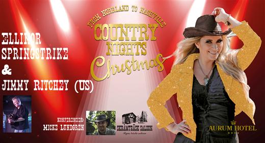 Bild för Country Nights Christmas, 2019-12-06, Aurum Hotell Kungasalen
