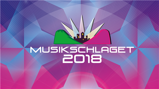 Bild för Musikschlaget - En melodifestival med mening, 2018-04-21, Äpplet, Umeå Folkets Hus