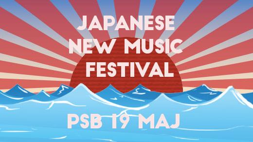 Bild för Japanese new music festival, 2017-05-19, PSB