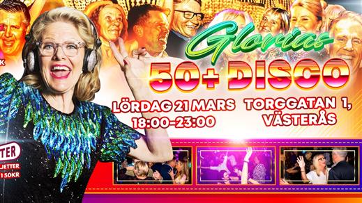 Bild för Glorias 50+ DISCO VÄSTERÅS 13 mars 2021, 2021-03-13, Publik