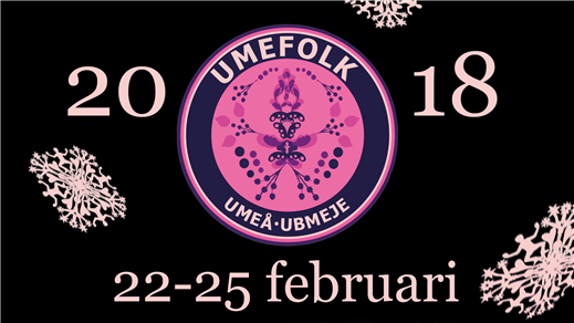 Bild för Umefolk 2018 - Huskort Lördag, 2018-02-24, Umeå Folkets Hus