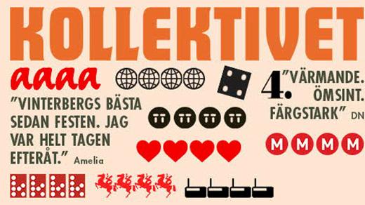 Bild för Kollektivet (barntillåten, 1h30min), 2016-09-22, Metropolbiografen