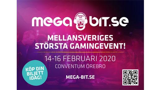Bild för Mega Bit 2020 - Lan Conventum Arena 14 - 16/2, 2020-02-14, Conventum Arena