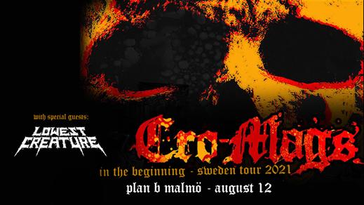 Bild för Cro-Mags / Lowest Creature // Live at Plan B - Mö, 2022-08-10, Plan B - Malmö