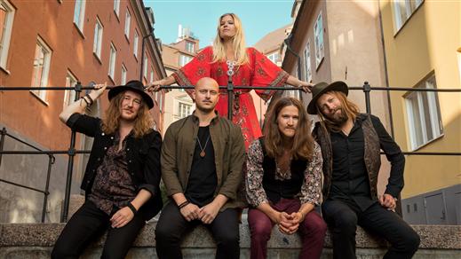 Bild för Lisa Lystam Family Band, 2020-11-13, Hallsbergs Jazz- och Bluesklubb