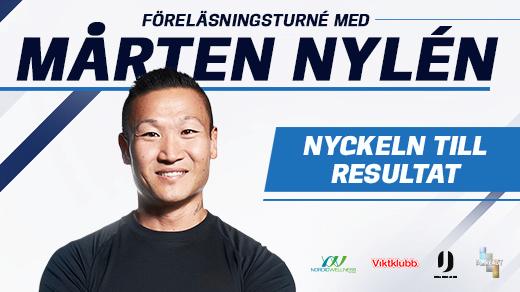 Bild för Mårten Nylén - Föreläsing - Nyckeln Till Resultat, 2017-02-01, Sverigeturné