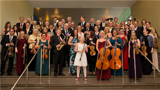 Bild för Trettondagskonsert med Tonicaorkestern, 2019-01-05, Kulturhuset Björnen Åstorp