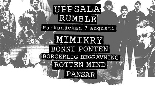 Bild för Uppsala Rumble, 2021-08-07, Parksnäckan