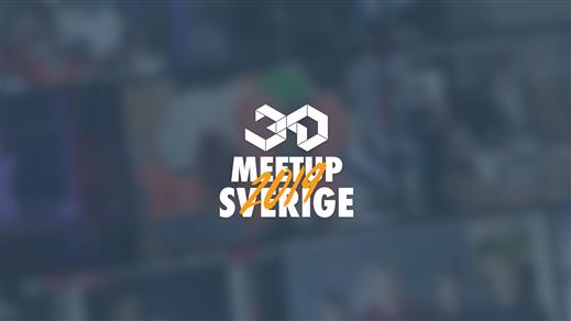Bild för 3D Meetup Sweden 2019, 2019-04-27, Sundspärlan