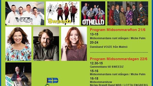 Bild för Midsommardagen i Öveds Eke 2019, 2019-06-22, Midsommardagar i Öveds Eke