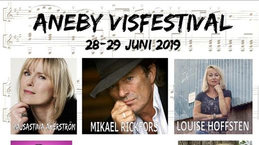Bild för Aneby Visfestival 28/6 - 29/6, 2019-06-28, Aneby Folkets Park