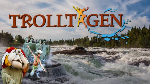 Bild för Trolltagen 19:00, 2017-07-07, Storforsen naturscen