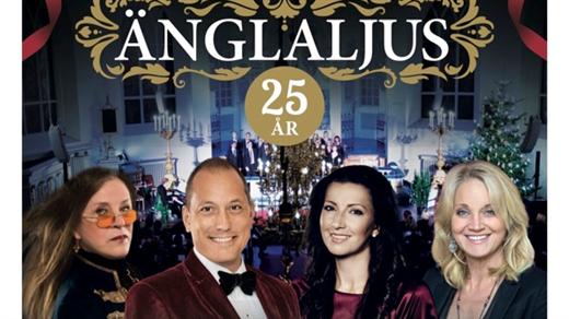 Bild för Julkonserten Änglaljus - 25-års jubileum, 2018-12-05, Backens kyrka