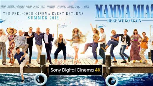 Bild för Mamma Mia! Here We Go Again, 2018-07-26, Kulturhuset i Svalöv