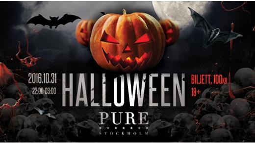 Bild för Halloween ★ Extraöppet - Måndag 31 Oktober ★ PURE, 2016-10-31, PURE Nightclub