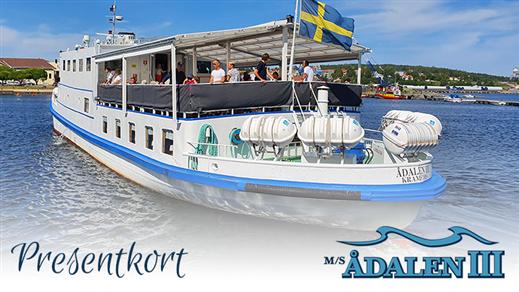 Bild för Presentkort, 2021-12-31, Ådalen III Skeppsbrokajen