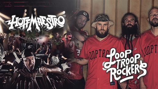 Bild för Hoffmaestro + Looptroop Rockers, 2019-06-14, Frimis Trädgård