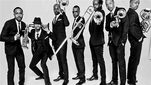 Bild för Hypnotic Brass Ensemble, 2016-09-24, Fasching