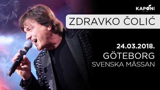 Bild för Zdravko Colic - Göteborg, 2018-03-24, Svenska Mässan