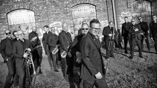Bild för Norrbotten Big Band featuring Johan Lindström, 2021-11-29, Pustervik