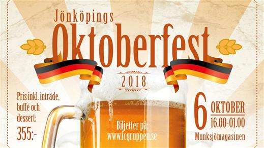 Bild för Jönköpings oktoberfest 2018, 2018-10-06, Munksjömagasinen Jönköping