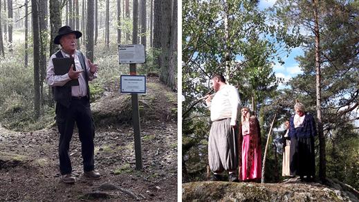 Bild för Dramatiserad guidning i Trollkäringeskogen, 2019-07-24, Finspång