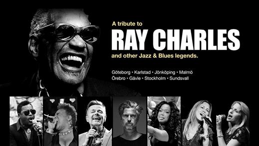 Bild för A Tribute to Ray Charles | Karlstad, 2019-05-10, Nöjesfabriken