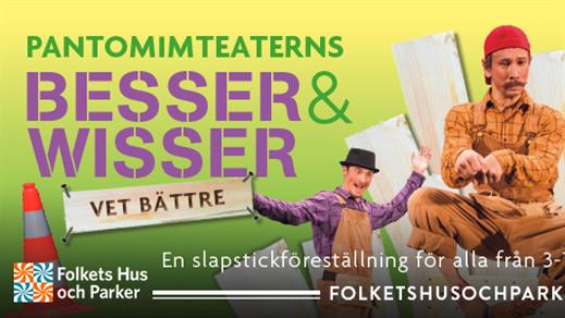 Bild för Familjeskoj - Besser & Wisser - vet bättre, 2018-07-10, Lilltorpet, Faluns Folkpark