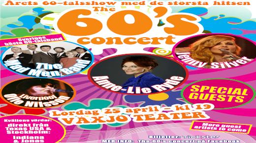 Bild för The 60s concert med bl.a Anne-Lie Ryde, 2020-04-25, Växjö Teater