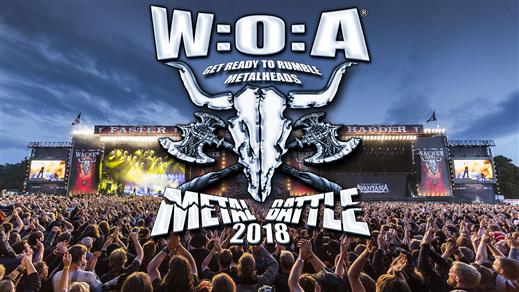 Bild för Wacken Metal Battle Sweden - Final 2018, 2018-04-21, Kulturbolaget