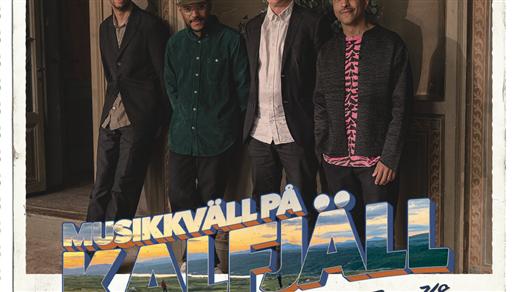 Bild för Timbuktu & MASAKA trio I Musikkväll på Kalfjäll, 2021-08-07, Hamrafjället, Tänndalen