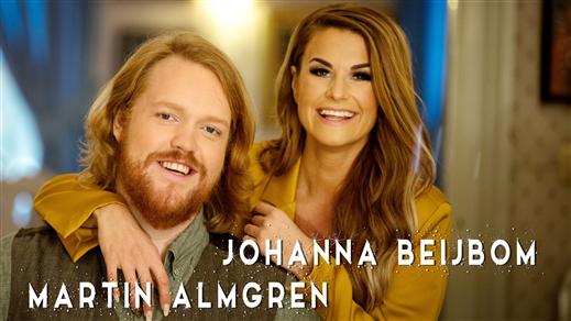 Bild för Martin Almgren och Johanna Beijbom, 2021-12-07, Fellingsbro Kyrka