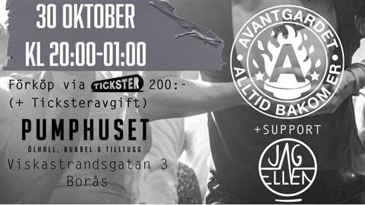 Bild för Avantgardet + Support: Jag & Ellen 30/10-21, 2021-10-30, Klubb Undergrunden