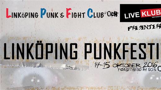 Bild för Linköpings punkfestival Tvådagars, 2016-10-14, Palatset