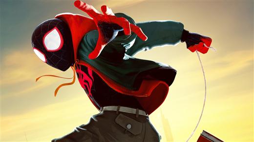 Bild för Spider-Man: Into The Spider-Verse  (Sv. tal), 2019-02-19, Kulturhuset Finspång, Stora Salongen