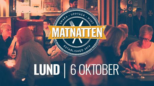 Bild för Matnatten Lund, 2021-10-06, Lund