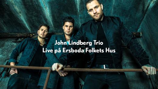 Bild för John Lindberg Trio Live på Ersboda Folkets Hus, 2021-03-27, Ersboda Folkets Hus