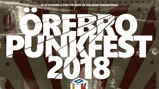 Bild för Örebro Punkfest, 2018-10-12, Frimis Salonger
