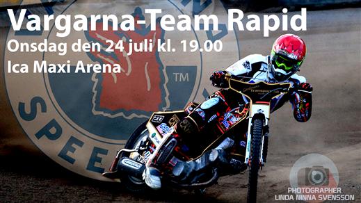 Bild för Vargarna-Team Rapid, 2019-07-24, ICA Maxi Arena