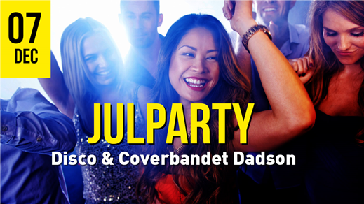 Bild för Julparty 7/12 Dadson & Disco, 2019-12-07, Torp