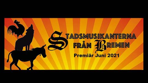 Bild för Stadsmusikanterna från Bremen, 2021-07-04, Teaterladan Wadköping