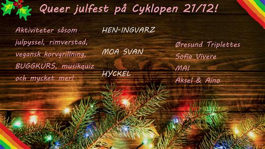 Bild för Queer Julfest, 2019-12-21, Cyklopen
